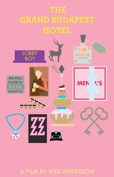 Wes Anderson Movie Posters by Zachary R Hill - http://www.designideas.pics/wes-anderson-posters-by-zachary-r-hill/