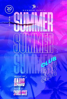 Download the Summer Club Party Free Flyer PSD Template! - Free Club Flyer, Free Flyer Templates, Free Party Flyer, Free Summer Flyer - #FreeClubFlyer, #FreeFlyerTemplates, #FreePartyFlyer, #FreeSummerFlyer - #Club, #DJ, #Event, #Music, #Night, #Nightclub, #Party, #Urban