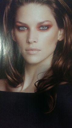 Bloodshot eyes glamour style