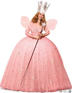 Glinda the Good Witch - Wizard of OZ 75th Anniversary Lifesize Standup Cardboard Cutouts at AllPosters.com