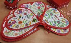 8 Martie, Spring, Techno, Crafts For Kids, Origami, Rainbow, Heart, Google, Saint Valentine
