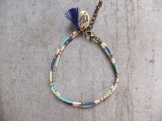 My-French-Touch - Bracelet bohème bronze & perles Miyuki BR1504