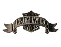 """HARLEY DAVIDSON Banner Logo vintage pin lapel badge metal motorcycle Official Merchandise by VintageTrafficUSA  25.00 USD  A vintage Harley Davidson pin used but excellent condition. Official Harley logo on back! Measures: approx 2"""" Have some individuality = some flair! 20 years old hard to find vintage high-quality lapel/pin. These rare pins are proven to win you friends and influence people! Add inspiration to your handbag tie jacket backpack hat or wall…"""