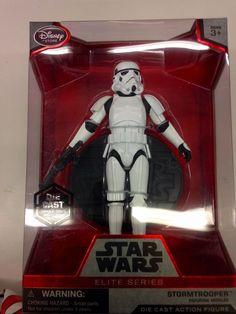 """Star Wars the Force Awakens Disney Store Elite Series 6"""" Stormtrooper Die Cast #Disney #starwars $60"""