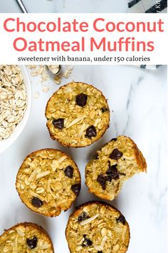 These healthy oatmeal muffins are ready in less than 30 minutes and sweetened naturally with banana. Great for breakfast, snacks, and lunches and they are great to make ahead and freeze! #breakfast #snack #kidfriendly #makeahead #quickandeasy Nutritious Snacks, Healthy Snacks, Healthy Recipes, Healthy Sweets, Vegetarian Recipes, Diet Snacks, Delicious Recipes, Easy Recipes, Healthy Breakfast Muffins