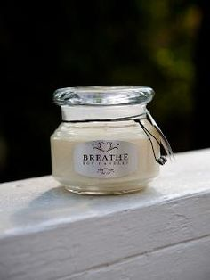 Breathe Soy Candles - $14.00 // beautifully scented, non-toxic soy candles hand-poured in Charleston