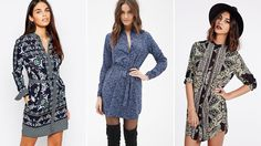 Most Attractive Shirt Dress for Girls