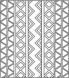 Veja riscos de estampa étnica para imprimir. Você pode usar os desenhos étnicos para customizar e criar lindos trabalhos artesanais.