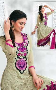 Embroidered Salwar Suit (hpeam-3307)