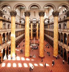 After bringing The BEACH to D., Snarkitecture return to National Building Museum's Summer Block Party National Building Museum, Temporary Structures, Thing 1, Block Party, Art World, Washington Dc, Home Goods, How To Memorize Things, Fotografia
