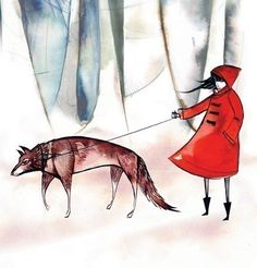 little red riding hood by emma sancartier