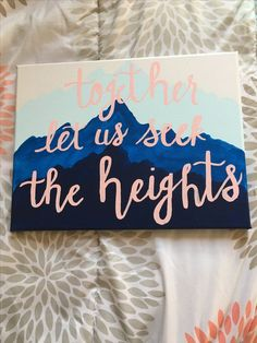 Alpha Chi Omega canvas