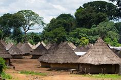 A village in very rural north-western Cote d'Ivoire