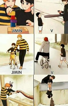Find images and videos about kpop, bts and funny on We Heart It - the app to get lost in what you love. Bts Jungkook, Bts Vmin, Jungkook Fanart, Jikook, K Pop, Vkook Memes, Bts Pictures, Photos, Bts Memes Hilarious