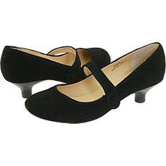 Kitten Heel Mary Jane Shoes