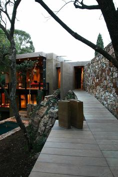 South African architectural firm Slee & Co Architects have created the Treehouse in Johannesburg, South Africa.