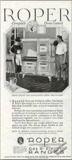 Roper Gas Range Collectible (1924)