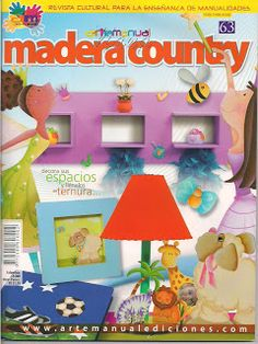 Revistas de Manualidades Para Descargar: Arte Manual Nº 62 Madera Country