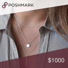Selling this Delicate three layered necklace on Poshmark! My username is: achile. #shopmycloset #poshmark #fashion #shopping #style #forsale #Jewelry