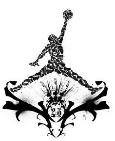 Air Jordan- this would make a pretty sweet tattoo!