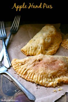 Rustic Apple Hand Pies are delicious any time of day!