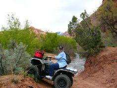 Riding atv trails south of Moab
