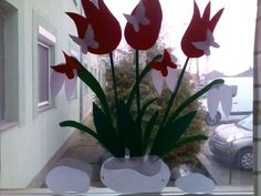 Spring Flowers, Techno, Arts And Crafts, March, Plants, Diy, Classroom, Spring, Flowers
