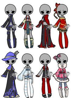 .:Adoptable:. Outfit Batch 11 [0/8] by DevilAdopts.deviantart.com on @DeviantArt