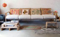 Pallet sofa!