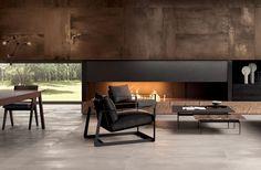 #Living #abkemozioni caldo e accogliente realizzato con la collezione Interno 9…
