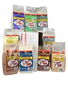 Bob's Red Mill Gluten Free Mixes http://www.onegreenplanet.org/vegan-food/the-top-10-gluten-free-baking-mixes/9/