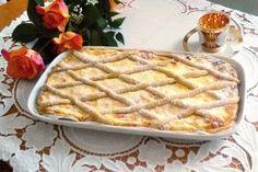 Mřížkový koláč s tvarohem podle receptu Mirky Kuntzmannové-Foto:Mirka Kuntzmannová Apple Pie, Waffles, Breakfast, Health, Sweet, Food, Essen, Morning Coffee, Candy