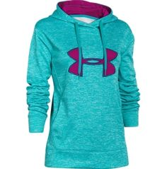 Under Armour Women's Big Logo Applique Twist Printed Hoodie - Dick's Sporting Goods