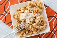 roasted sweet potato pasta