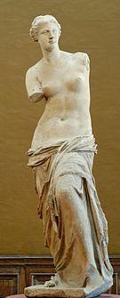 Venus de Milo, vers 130-100 av. J.-C.Art — Wikipédia