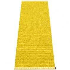 Pappelina Mono Mustard : Lemon Runner - 60 x 250 cm