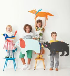 Animal Puppets / Marionnettes d'animaux