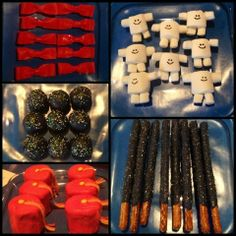 Amazing food ideas from a Dr. Who party!  See more party ideas at CatchMyParty!