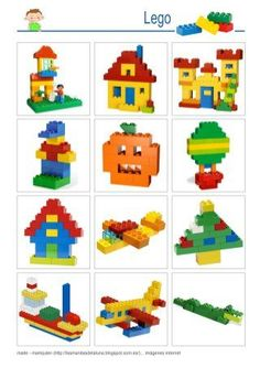 Construction Toys of the Year Lego Basic, Lego For Kids, Art For Kids, Crafts For Kids, Kids Math, Lego Design, Lego Therapy, Construction Lego, Lego Challenge