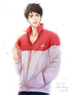 Sosuke Yamazaki Makoto Tachibana, Yamazaki Sousuke, Swimming Anime, Splash Free, Free Eternal Summer, Free Iwatobi Swim Club, Handsome Anime Guys, Hot Anime Boy, Free Anime