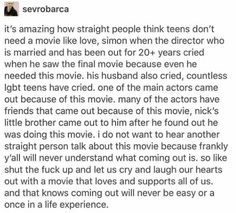 Love Simon, Lgbt Memes, Def Not, Lgbt Love, Faith In Humanity Restored, A Silent Voice, Fandoms, Equality, Self