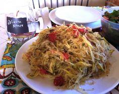 #Meatless Monday: Vegan Spaghetti with Cherry Tomatoes