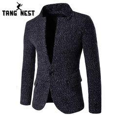 Hot New Arrivals : TANG NEST 2017 Fa... Give a look here!  http://5thmoda.com/products/tang-nest-2017-fashion-skinny-single-breasted-men-blazer?utm_campaign=social_autopilot&utm_source=pin&utm_medium=pin #Newarrivals #Shopping #Look #Style