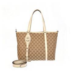 Gucci Women Shoulder Bag:$228.6 - Gucci Outlet Gucci Outlet Online, White Shoulders, Gucci Men, Travel Bags, Louis Vuitton Damier, Michael Kors, Shoulder Bag, Beige, Tote Bag