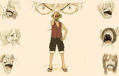 one piece anime monkey d luffy 1400x900 wallpaper
