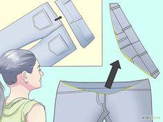 Make Regular Pants into Maternity Pants Step 6.jpg