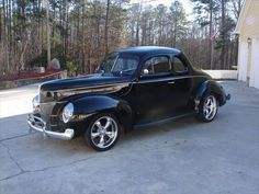 1940 Ford Coupe Price - $59,000 Location - , Georgia Ford Lincoln Mercury, Fancy Cars, Kustom, Cars And Motorcycles, Hot Rods, Antique Cars, Georgia, Classic Cars, Wheels