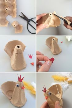Easter Craft: Hen Egg Cups
