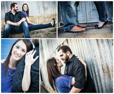 Historic Downtown McKinney Engagement | Engagement Shoot Poses | Proof Photography | www.ProofPhotographyDFW.com