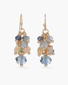 Cara Cluster Earrings